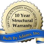 Built By Adams, Southern Maine Home Builders